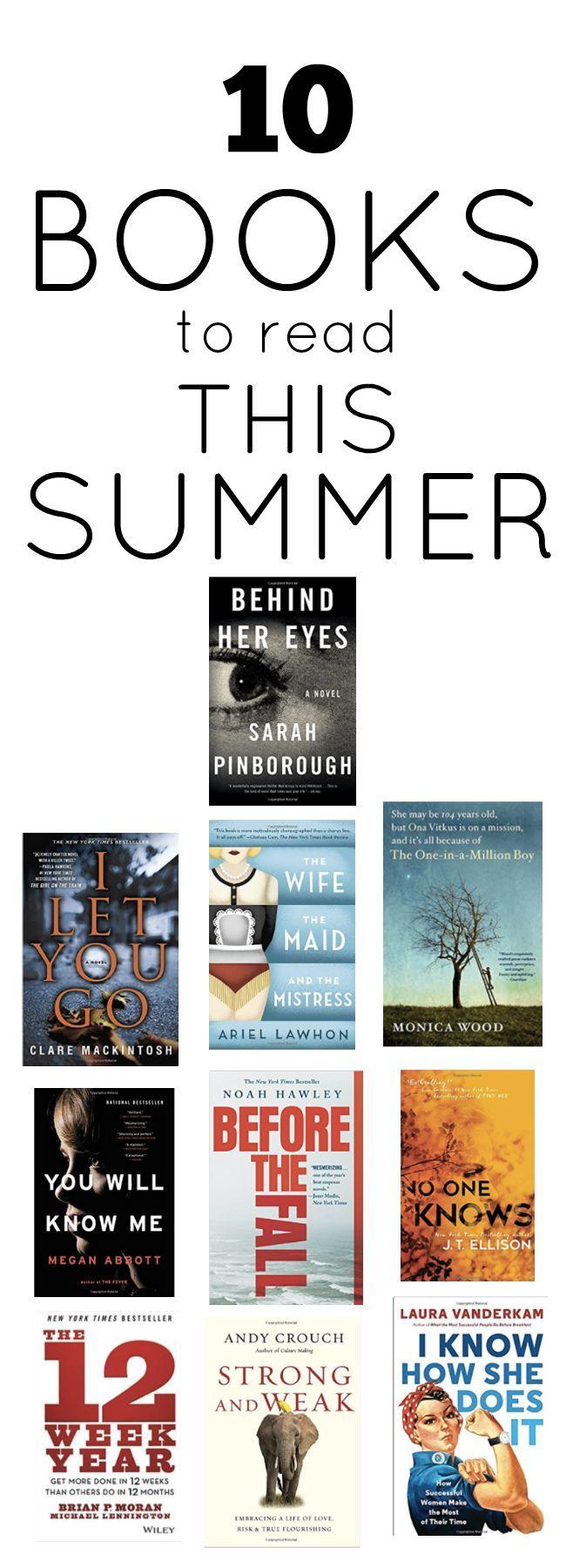 25+ Best Ideas About Summer Reading Lists On Pinterest
