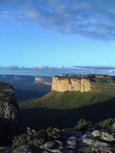 Chapada Diamantina - Espinhaço Supergroup, Proterozoic siliclastics and carbonates, quite commonly shelfal/coastal deposits, also fluvial eolian, stromatolites and glacials too. Bahia State, Brazil