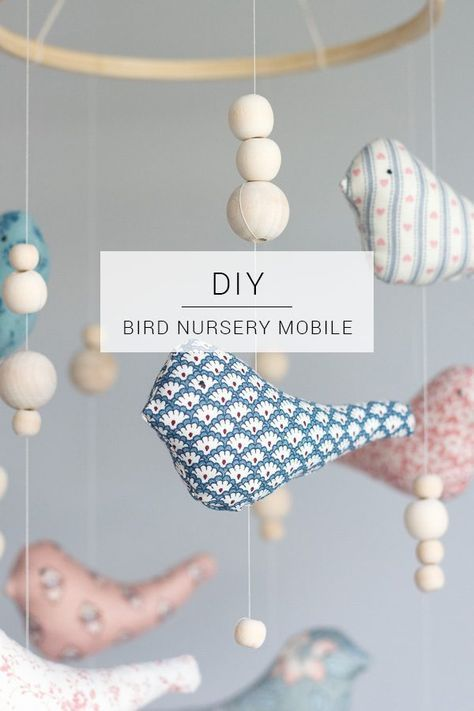 Vogelkindergarten Mobile // DIY
