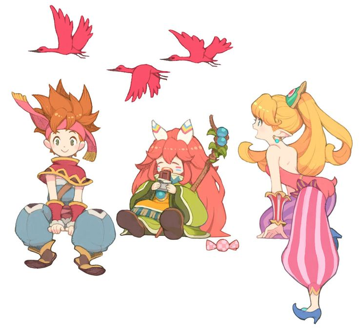 Out Now Promo Artwork from Secret of Mana (Remake)