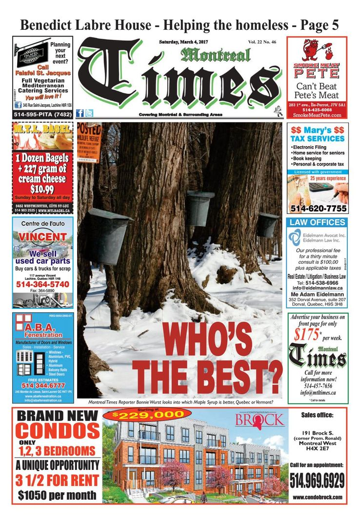 Montreal Times 22 46 March 4 2017