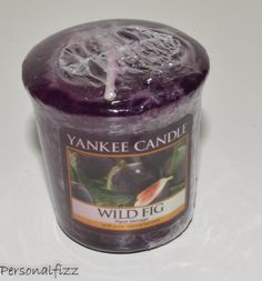 Yankee Candle Votive wild fig