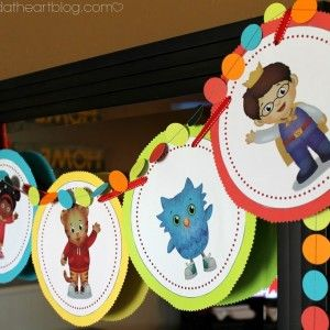Image result for daniel tiger themed birthday party