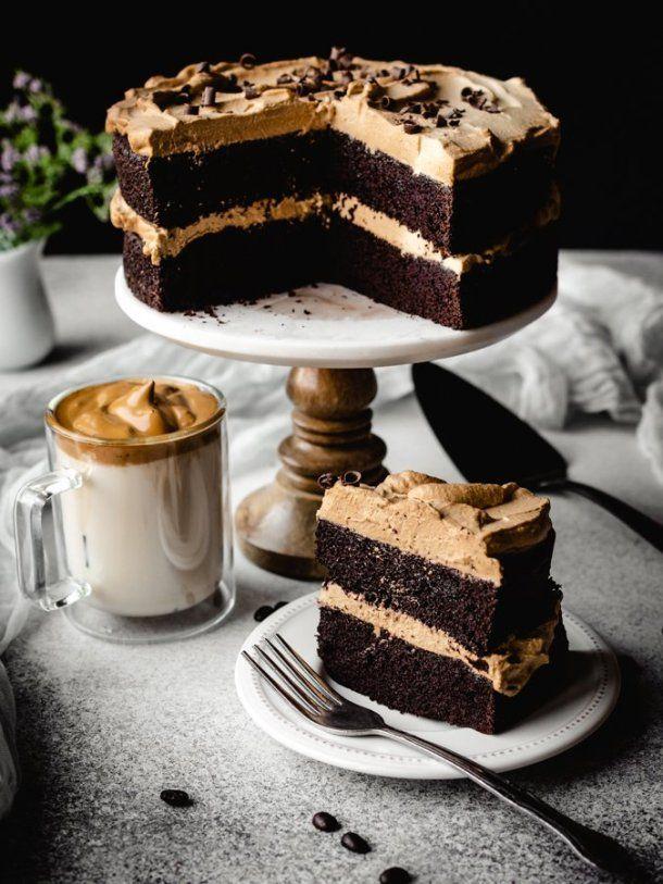 The Best Dalgona Coffee Chocolate Cake Kickass Baker Recipe In 2020 Cake Recipes Chocolate Cake With Coffee Best Chocolate Cake