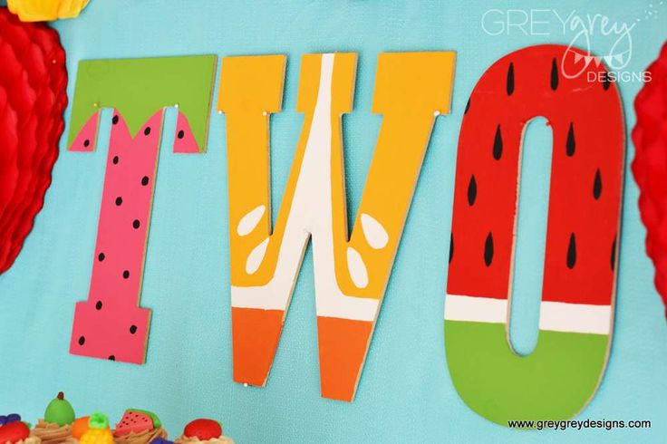 Fruit Birthday Party Ideas