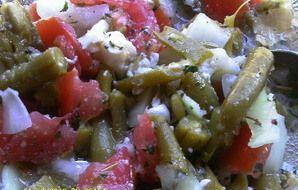 Dee's Italian Green Bean Salad Recipe - Recipezazz.com