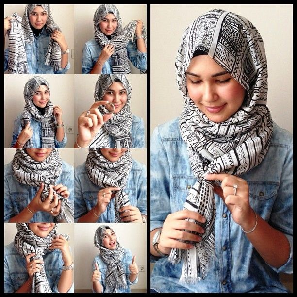 tutorial hija pasmina simple dan cantik