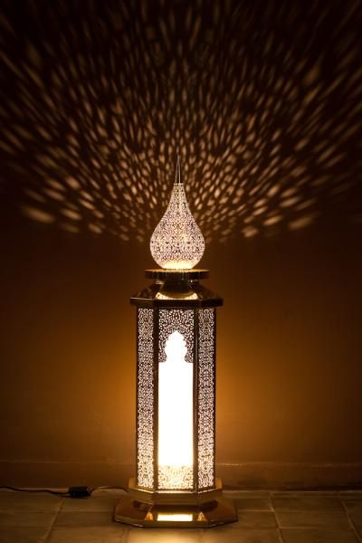 lampe a poser orientale