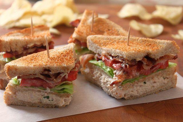 Tuna Club Sandwich