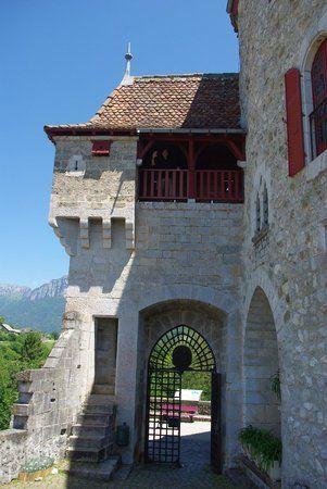 Château de Menthon-Saint-Bernard. Rhône-Alpes