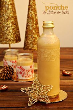 ponche {navideño} de dulce de leche