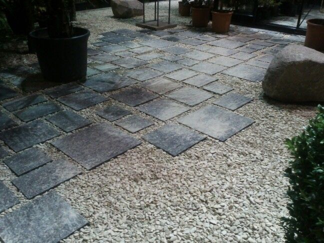 17 best images about bestrating halfverharding on pinterest gardens concrete path and tuin - Tuin idee ...