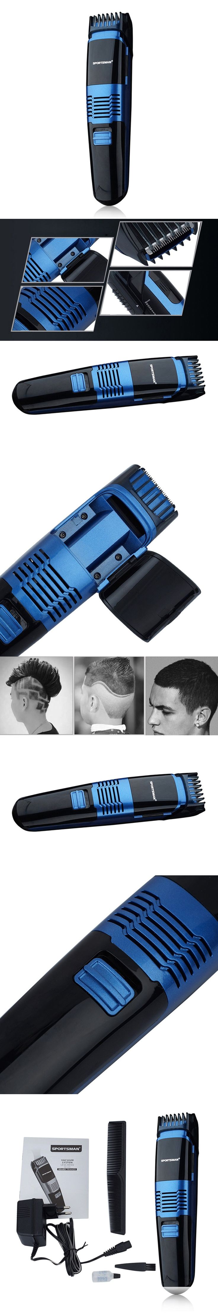 1 set Multifunctional Electric Hair Trimmer Rechargeable Hair Clipper Haircut Beard Trimmer Razor for Adult Men LED Display