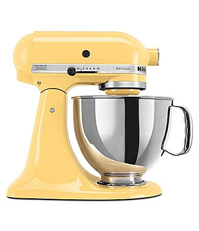 KitchenAid Artisan Majestic Yellow  5Quart TiltHead Stand Mixer #Dillards