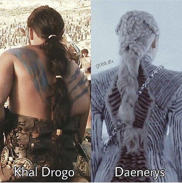 Khal Drogo and Daenerys