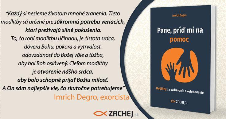ČOSKORO! Už onedlho sa budete môcť zahĺbiť do novučičkej publikácie modlitieb za vnútorné uzdravenie a oslobodenie, ktorú pre vás pripravujeme v spolupráci s košickým exorcistom Imrichom Degrom. Tešíte sa? Prečítajte si krátky úryvok z pripravovanej publikácie. #zachejsk #pripravujeme #čoskoro #knihyzachej #citamkrestanskeknihy #dnescitam #exorcizmus