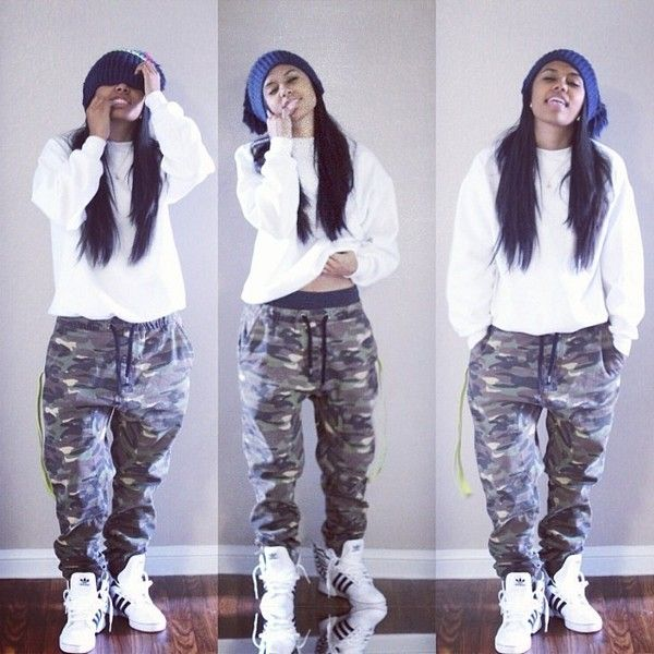 JOHNNEYTOOLIVE❤ Gurrl got swag tho!