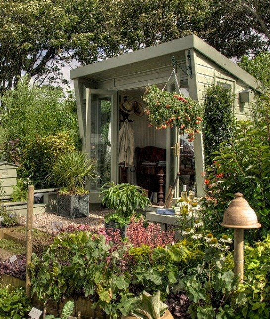 The Fairytale Shed: 'She Sheds' We'd Love to Have - mom.me