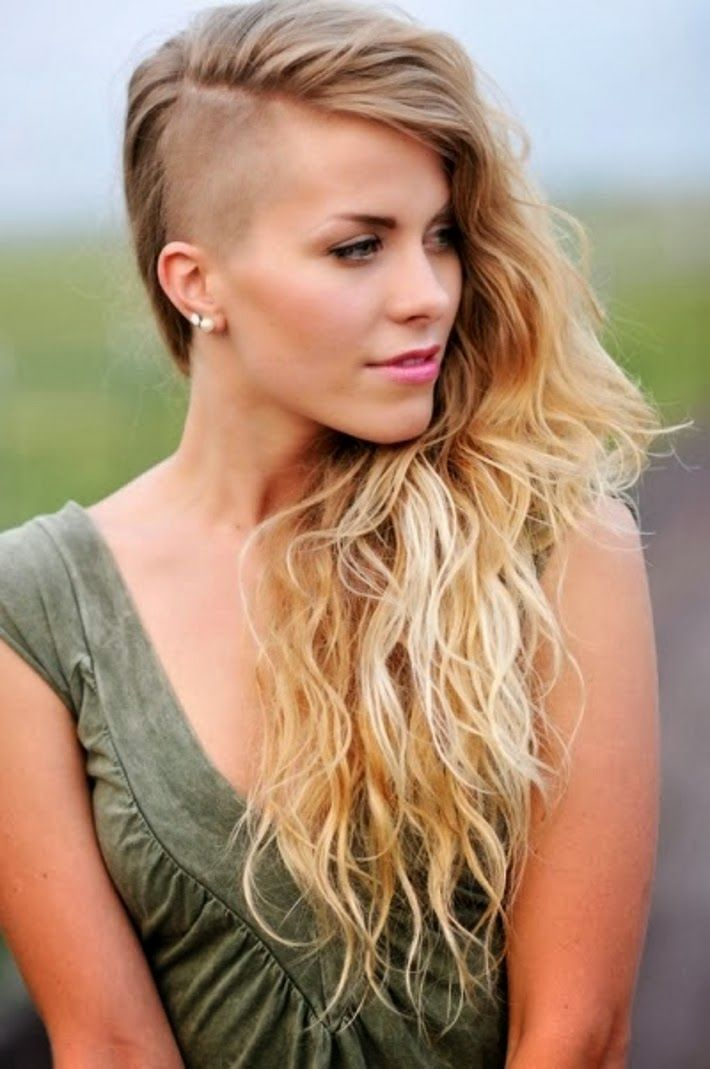 Hairstyles for growing out half shaved head picture ideas with cute