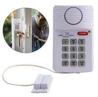1X Security Keypad Door Alarm System  Security Keypad Door Ring Alarm System w/ Panic Button For Hom