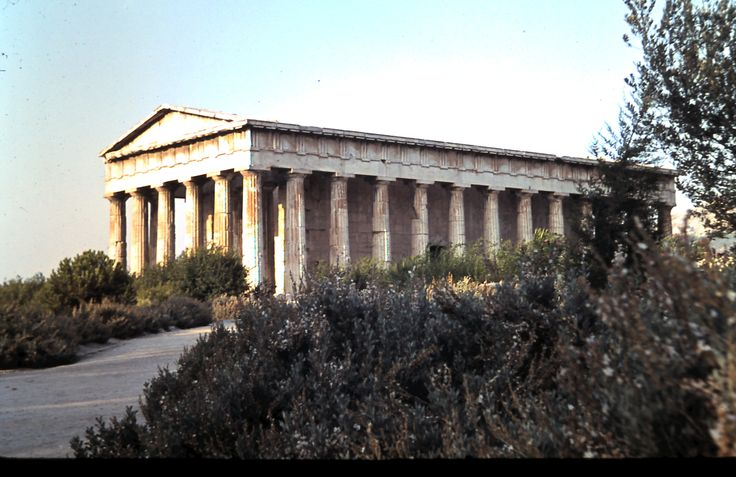 Temple of Hephaestus dating from 416-415 B.C.