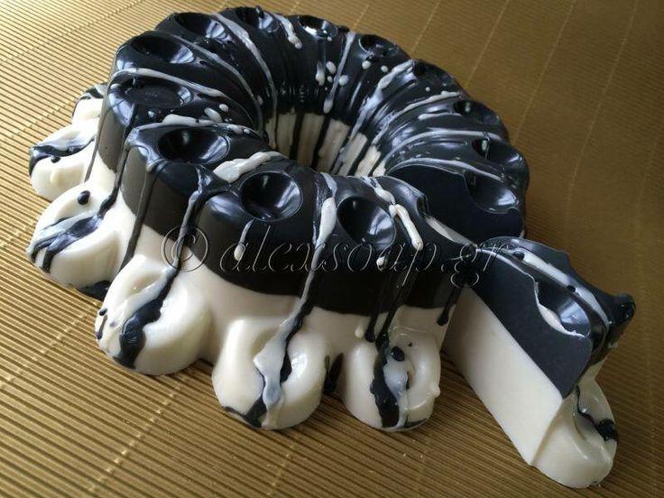 Σαπούνι τούρτα Βανίλια - σοκολάτα