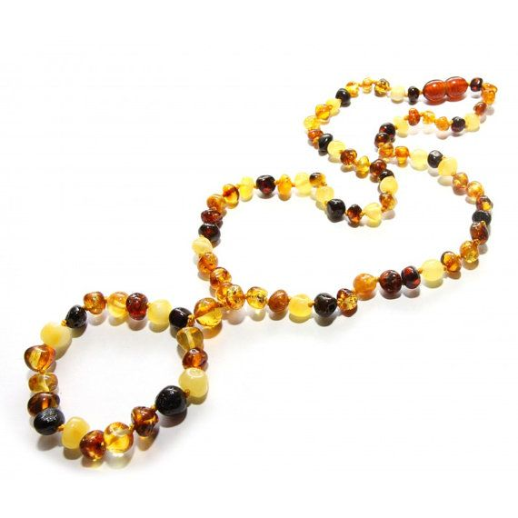Authentic baltic amber nursing/breastfeeding necklace.