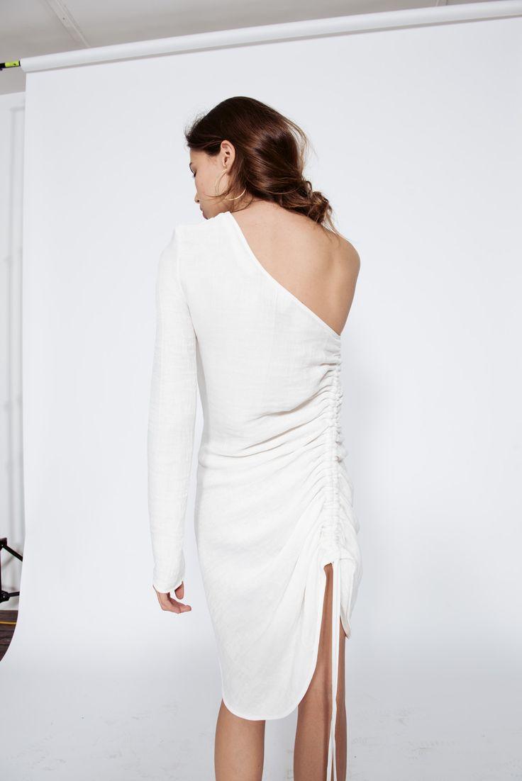 Georgia Alice Resort 16 Crystal One Shoulder Dress