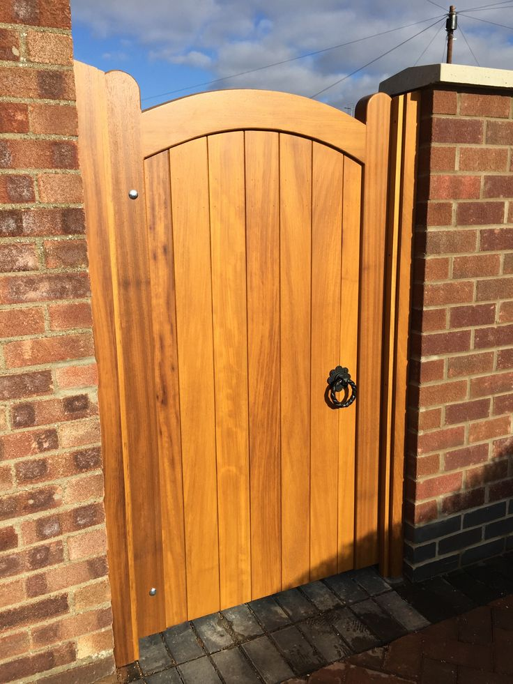 1000 Images About Hardwood Gates On Pinterest Wooden