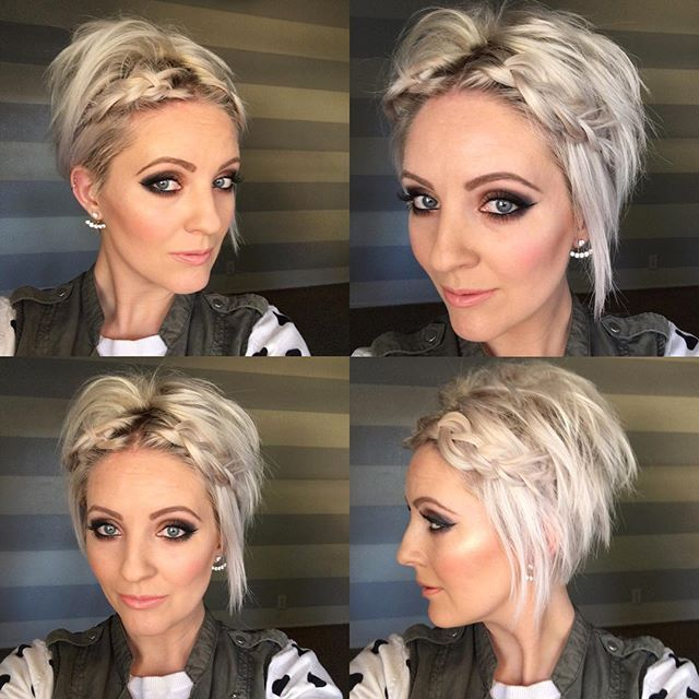 Hairstyles For Short Hair Fast : 71 best hair styles images on pinterest