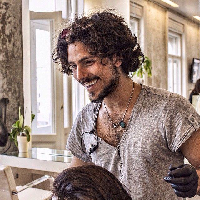 #FranceViler all'opera alla #GoranVilerHairSpa. #GoranViler #HairSpa #Beauty #Trieste #HairStylist #HairStyle #Styling