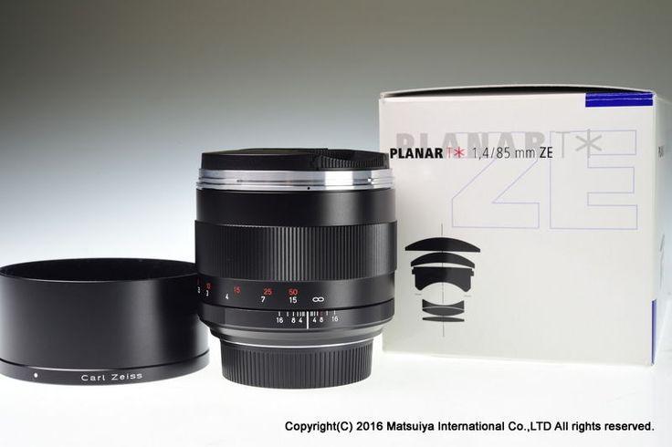 ** MINT ** Carl Zeiss Planar T * 85mm f/1.4 ZE for Canon #Zeiss