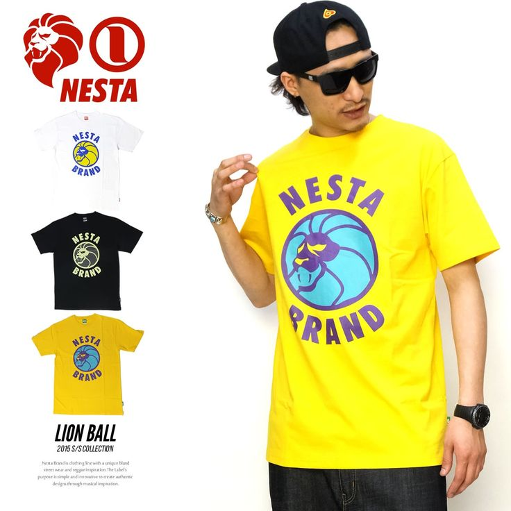 ネスタブランド NESTA BRAND Tシャツ メンズ LION BALL :5v3228:DEEP B系・ストリートファッション - 通販 - Yahoo!ショッピング