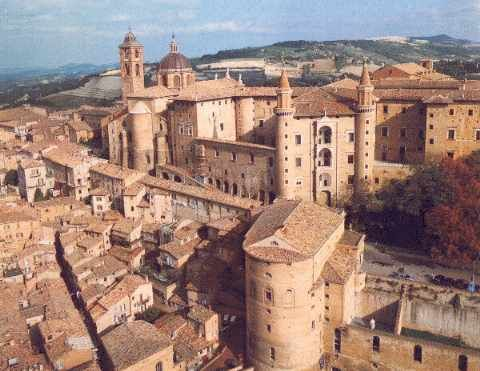 Urbino, Marches, Italy