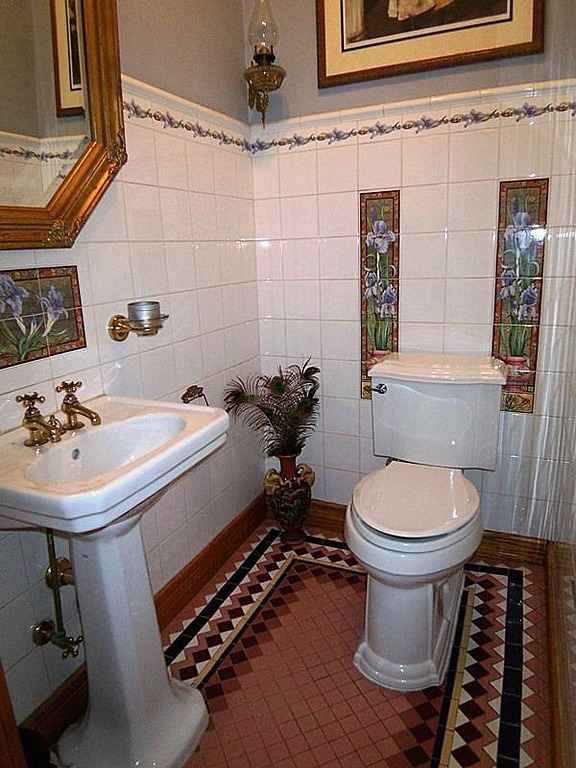 Own a piece of history with this 20 room Queen Anne Victorian on Fifth  Street. 291 best Water closet images on Pinterest   Bathroom ideas