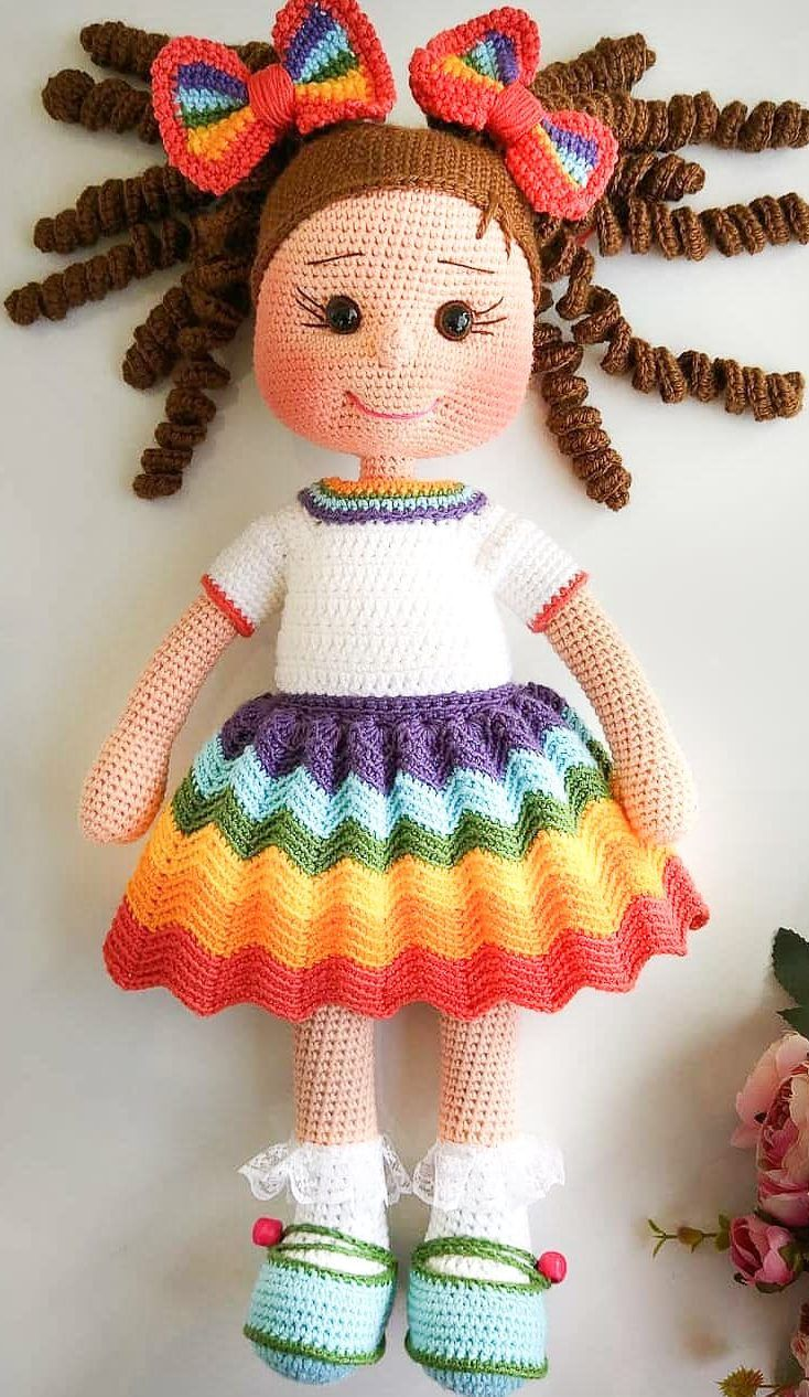 FUNNY AND BEAUTY AMIGURUMI CROCHET PATTERNS Ideas and images for ... | 1266x734