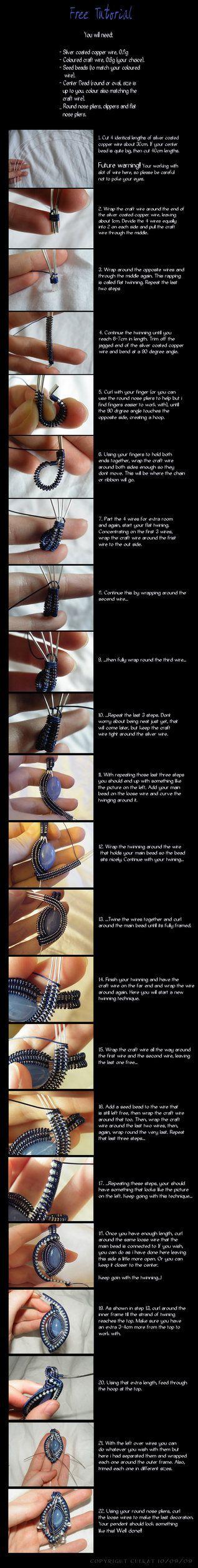 Free Jewellery Tutorial by ~cueKat on deviantART