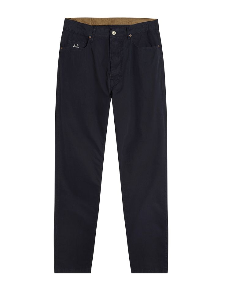 C.P. Company Five Pocket Trousers in Blue