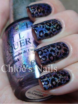 Nails Art, Cheetahs Nails, Hot Nails, Nails Polish, Animal Prints, Leopards Nails, Nail Art, Cheetahs Prints, Leopards Prints Nails