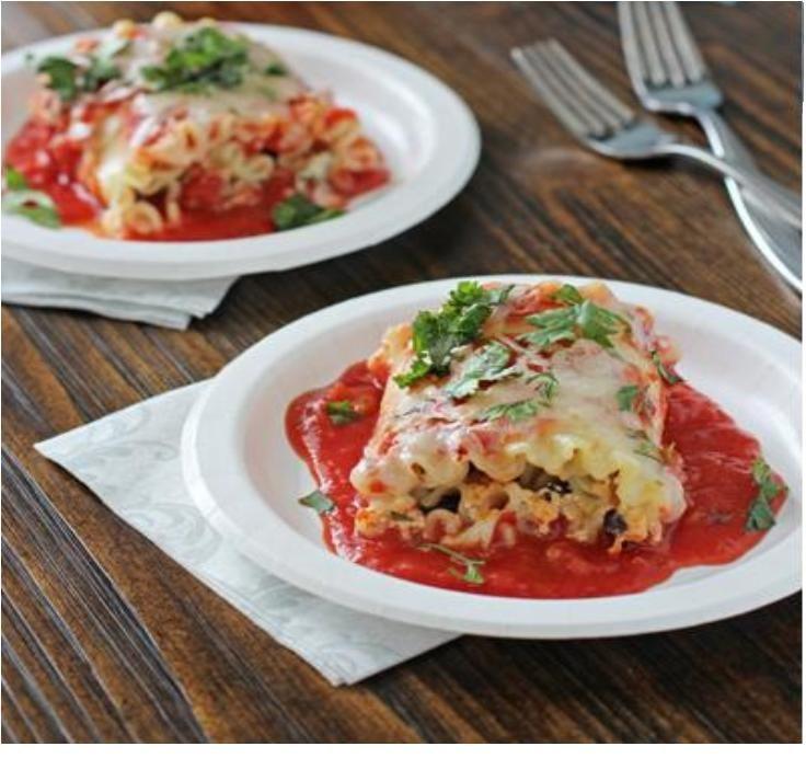 7 Vegetable Lasagna Roll-Up Recipes