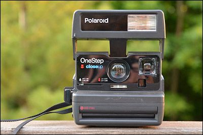 Polaroid 600 One Step Close Up camera  #ownthis