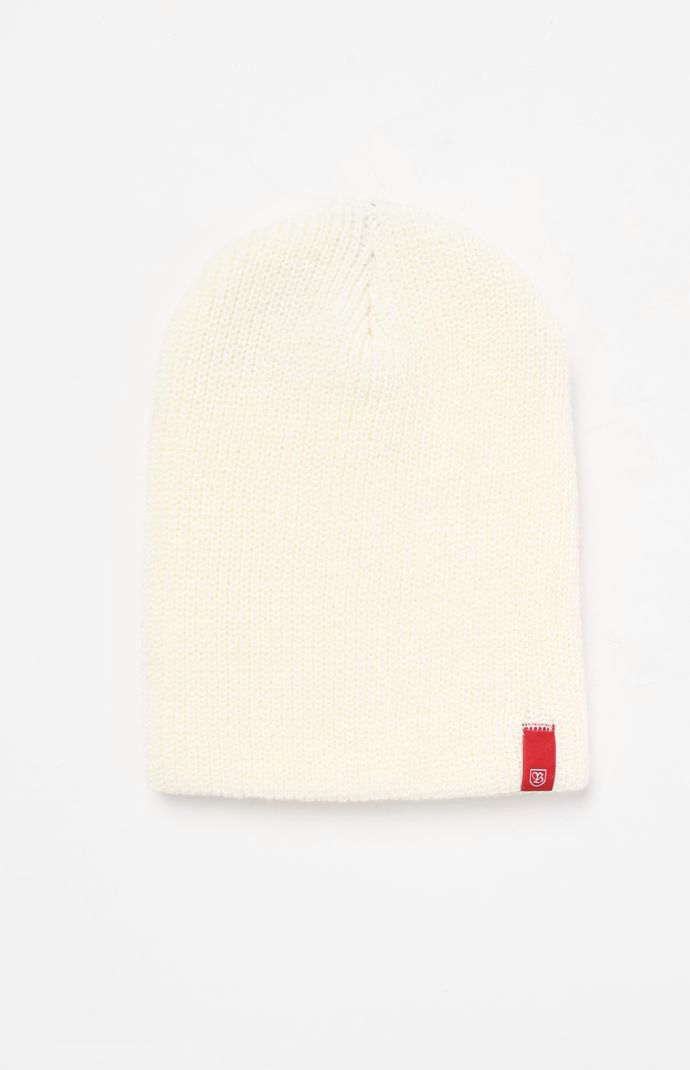 Hooked on Jesse Off White Beanie that I found on the PacSun App