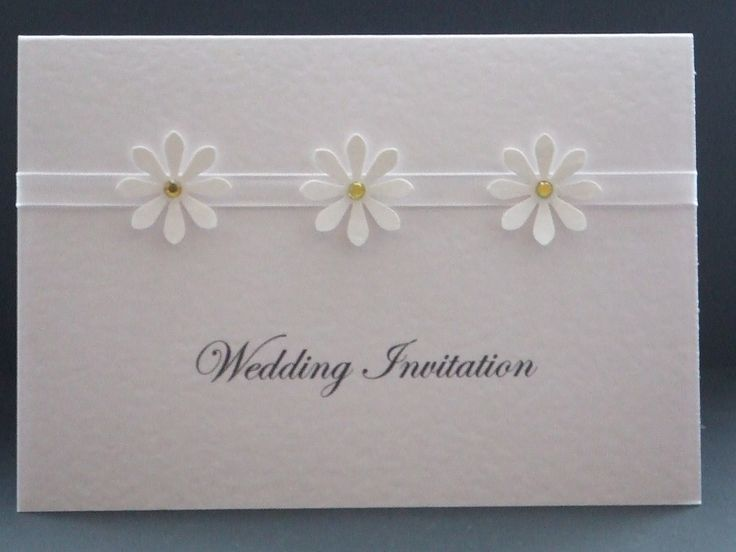 A Spring Wedding Announced through Daisy Wedding Invitations clean and simple