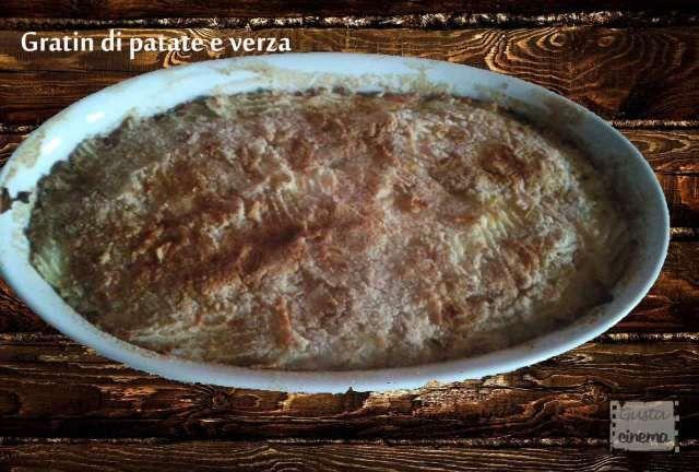 Gratin di patate e verza, un piatto unico molto sfizioso e saporito. Una ricetta facile e sfiziosa che si può gustare anche freddo, quindi potete preparare anche in anticipo. Un piatto molto invitante e gustoso che vi sorprenderà!!!