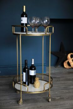 Throw caution to the wind and splash out on an impossibly glamorous Gatsby cocktail trolley. £249.00