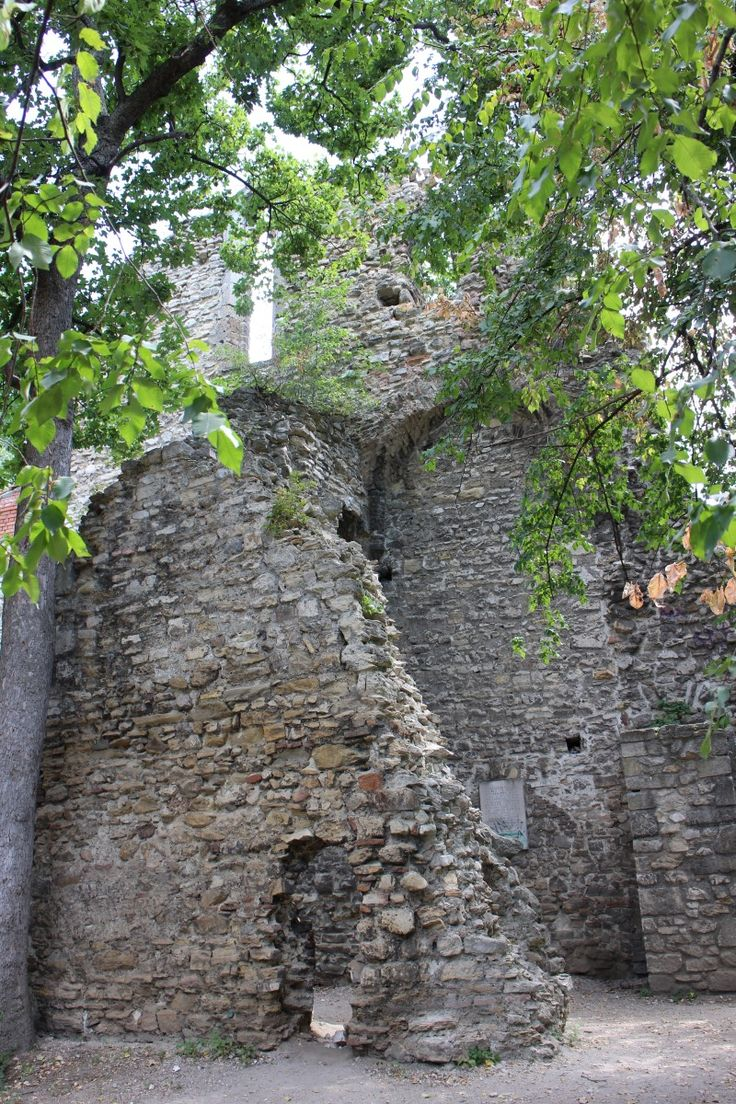 Ruins of a medieval nunnery