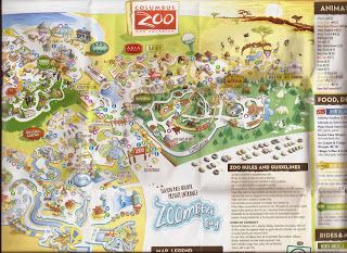 Zoo Tails Columbus Zoo Map 2015  Animals And Zoos
