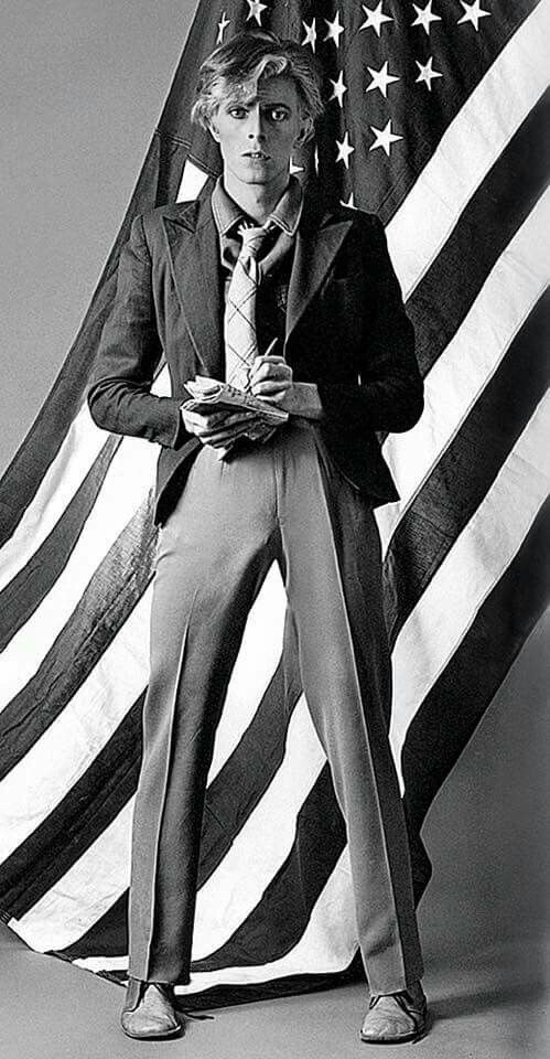 "vezzipuss.tumblr.com — David Bowie, Young Americans"", Circa 74"