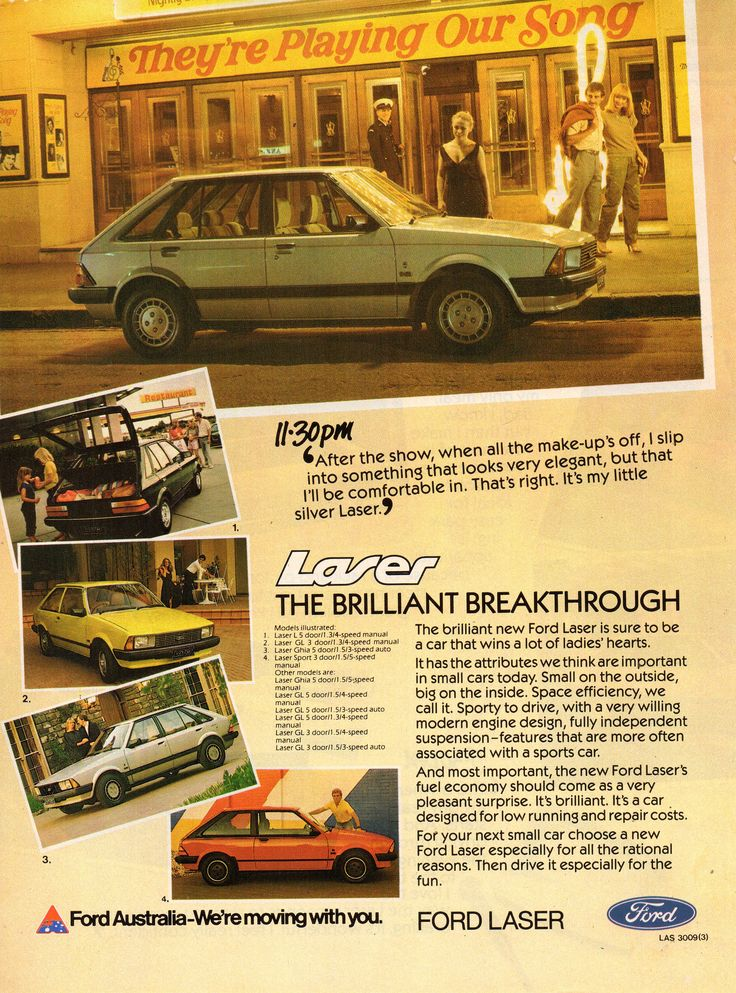 https://flic.kr/p/DHtJiE | 1981 KA Ford Laser Hatchback Page 4 Aussie Original Magazine Advertisement