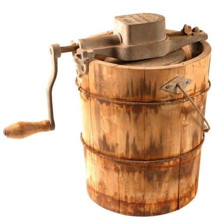Image result for antique ice cream churns